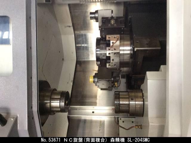 NC旋盤(背面複合) DMG森精機 SL-204SMC 2002 2