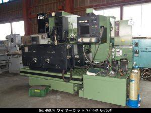 ソディック  ワイヤーカット 1991 A-750W TON-46074
