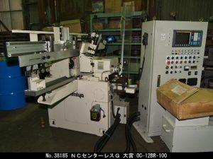 大宮マシナリー NCセンターレスG 2001 OC-12BR-100 TON-38185