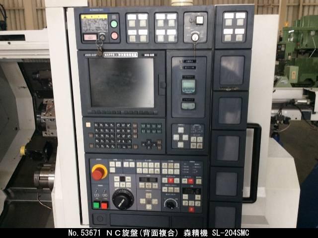 NC旋盤(背面複合) DMG森精機 SL-204SMC 2002 3