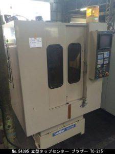 ブラザー工業 立型タップセンター 1988 TC-215 TON-54395