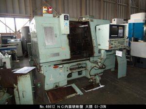 オークマ NC内面研削盤 1989 GI-20N TON-46612