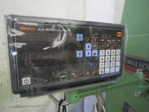 大隈豊和機械 ヒザ型立フライス 大隈豊和機械 STM-2V 1985 1985 STM-2V NKF-152361
