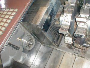 中村留精密工業 NC対向2主軸型旋盤 中村留精密工業 TW-20 1989 1989 TW-20 TKS-38323