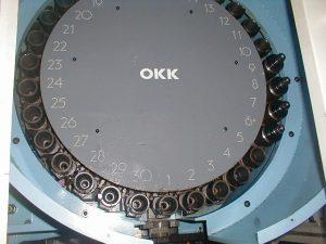 OKK|大阪機工 立マシニング(BT40) OKK|大阪機工 PCV-40Ⅱ 1994 1994 PCV-40Ⅱ TKS-38337