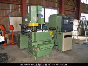 ソディック ソディック NC放電加工機 AP-3-ATC16 1997 AP-3-ATC16 OKW-48603