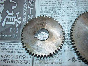 ブラザー工業 ピッチ 24山BT2-223,224用 替歯車/チェンジギャー  ピッチ 24山BT2-223,224用 OMS-BT2-223-24